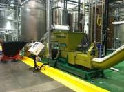 PET bottles dewatering machine of GREENMAX POSEIDON SERIES