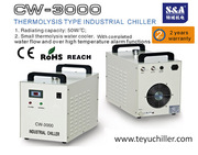 S&A CW-3000 water cooler for 80W CO2 laser tube